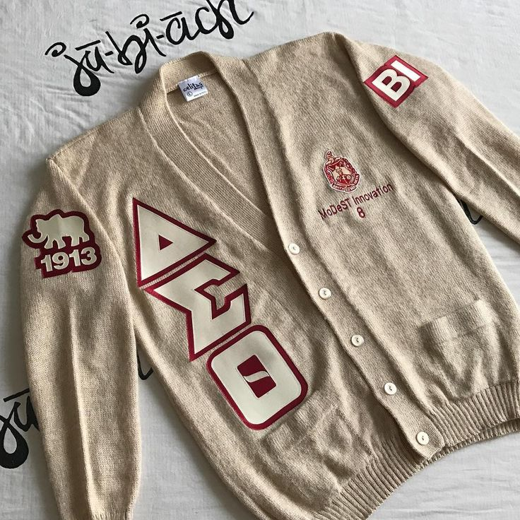 Shout out to just shug for her recent pick up of this - Delta sigma theta sorority cardigans ...