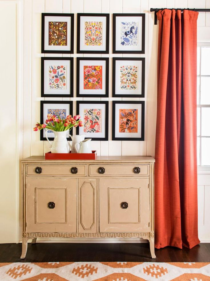 Who says a calendar's life span is only a year? Tear out its pretty pictures and frame them for inexpensive wall art. #HGTVMagazine http://www.hgtv.com/design/decorating/design-101/5-ways-to-style-your-home-with-items-you-already-have-pictures?soc=pinterest