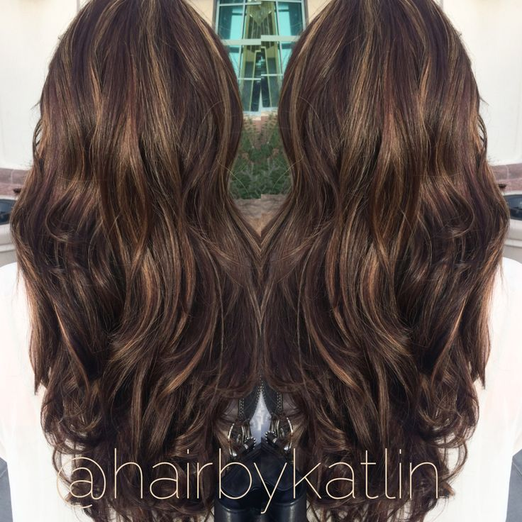 Fall colors hairbykatlin fall copper brown mocha caramel highlights lowlights dark