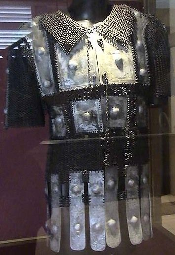 Bugis (Indonesia) mail and plate armor (baju zirah Bugis). Kota Ngah Ibrahim Museum (Perak, Malaysia). The Buginese people are an ethnic group, the most numerous of the three major linguistic and ethnic groups of South Sulawesi, in the southwestern province of Sulawesi, third largest island of Indonesia.