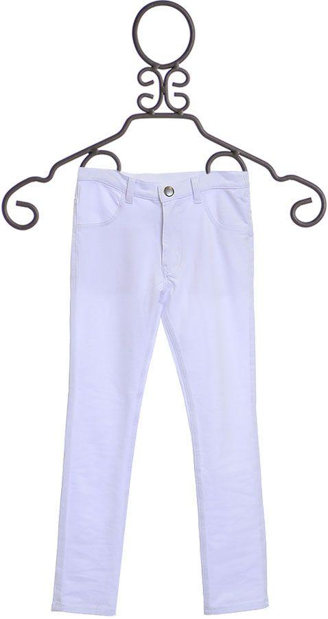 Rockin Baby White Skinny Pants for Girls (3/44/5810)