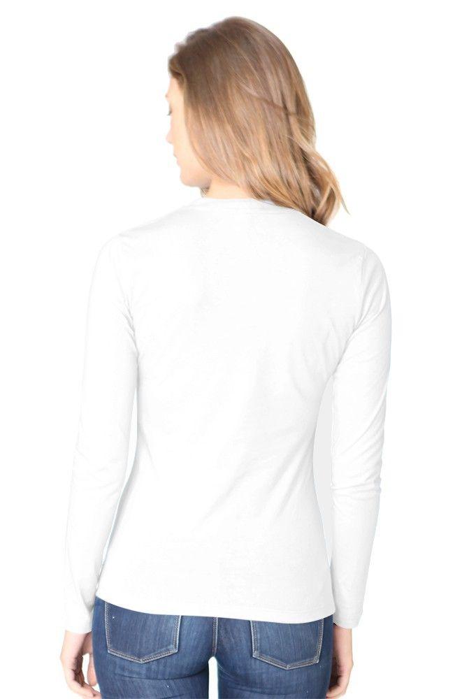5002ORG Women's Organic Long Sleeve Crew Tee