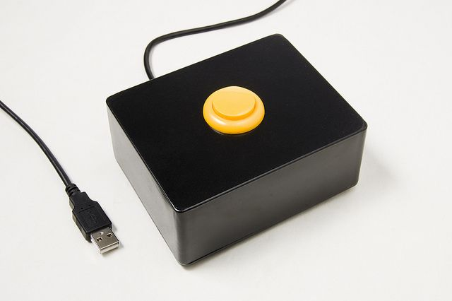 The Button by Pete Prodoehl, via Flickr