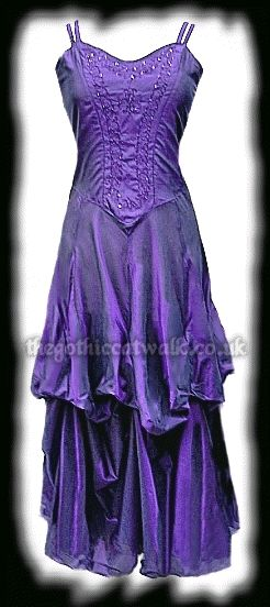 Long Purple Silky Gothic Victorian Dress  http://www.thegothiccatwalk.co.uk/long-purple-silky-gothic-victorian-dress-prom-p-781.html