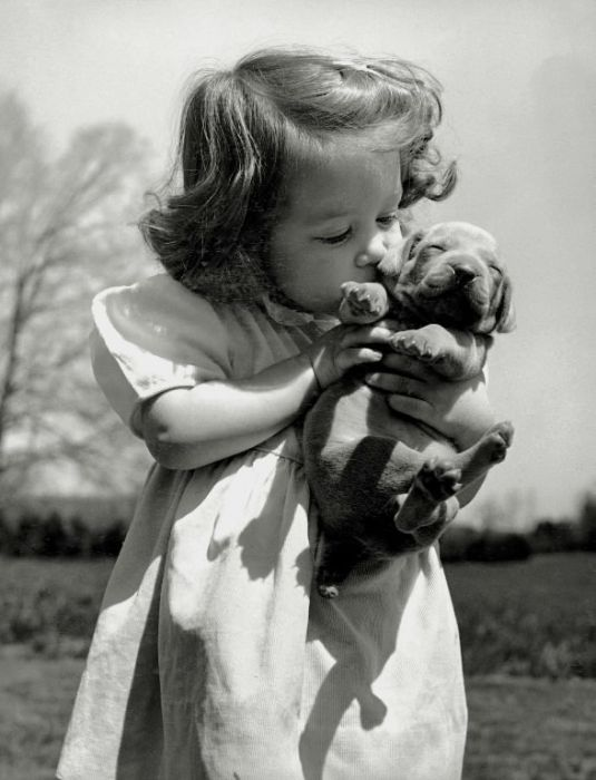 vinatage blak and white | Black and White Old Pictures of Pets | Pets - Exotic, Animals, Stories