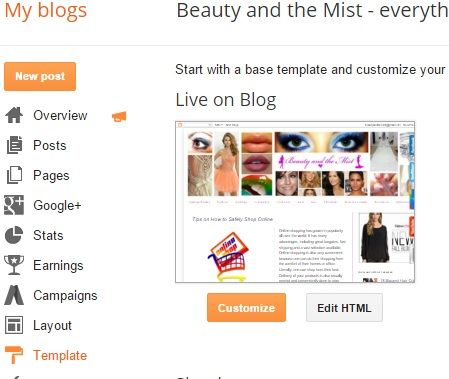 Beauty and the Mist - everything about beauty: How to remove LinkWithin from blog