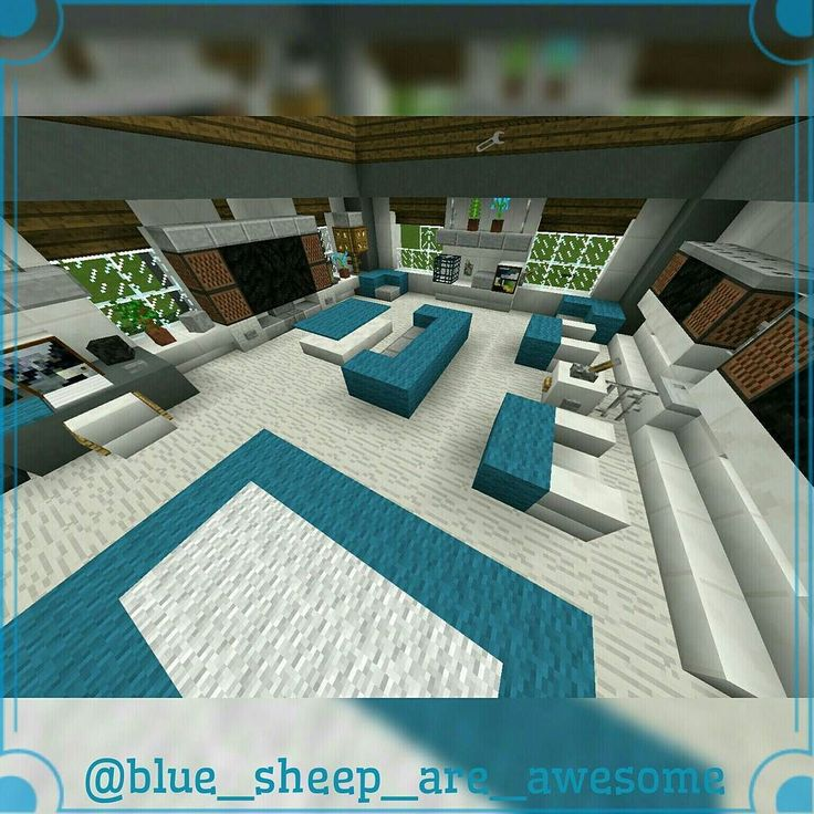 Interior living room #minecraft | Minecraft houses ...
