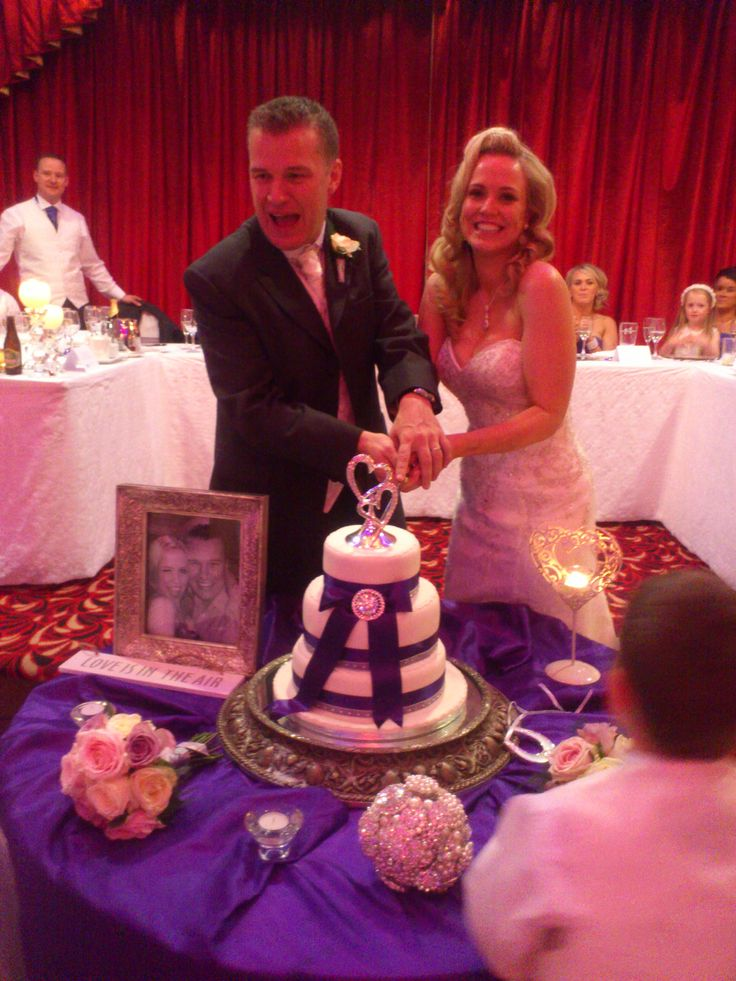 The cake, newbridge silver topper, brooch theme