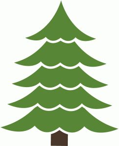 Loving this Christmas Tree cut file on the Silhouette! Use it for layouts, cards and kids holiday projects! Go grab it on Silhouette!