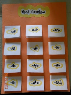 New Foldables from the FoldiFun Factory!  Word Families