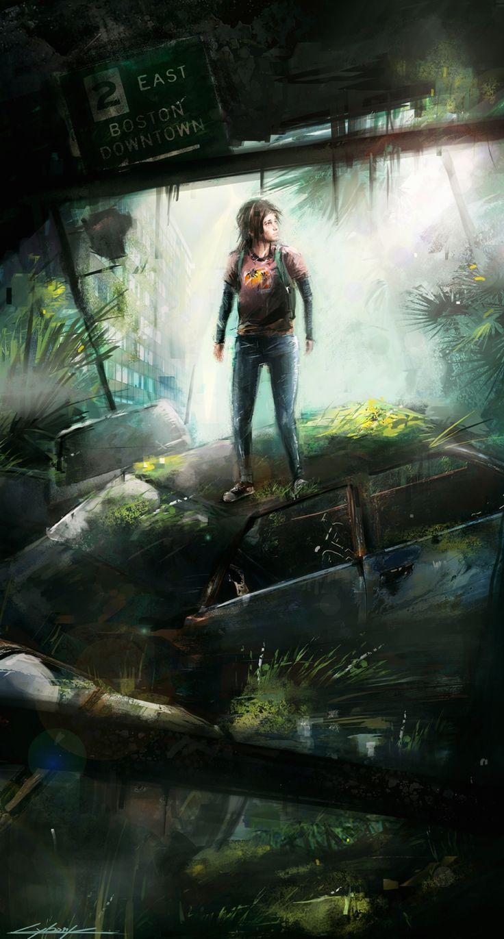 The last of us: Ellie by VitoSs.deviantart.com on @deviantART