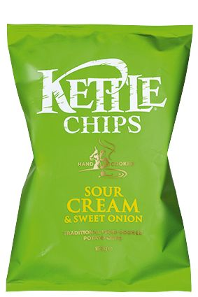 Kettle chips sour cream 150 grs