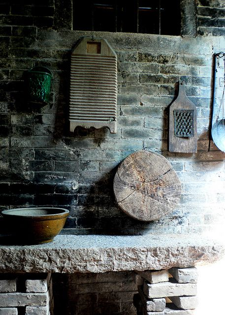 1197 Old kitchen utensils--CuiHeng , China by ngchongkin, via Flickr