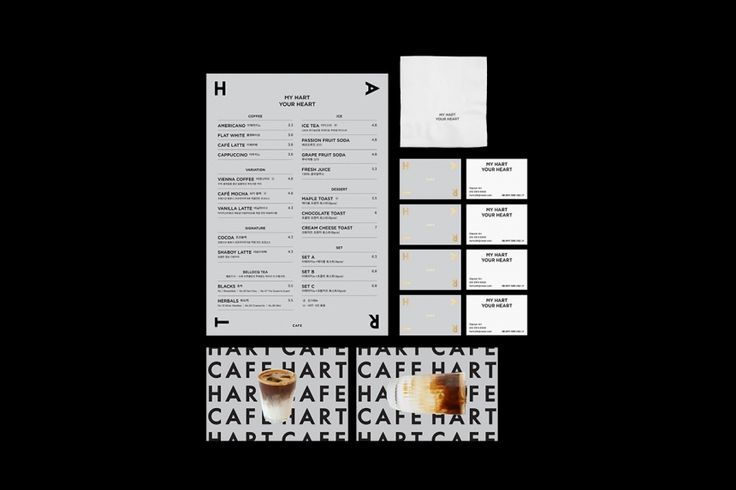 Hart Cafe by Triangle Studio: Branding with a whole lot of heart | Creative Boom