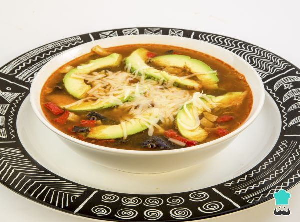 Aztec soup Recipe #recipes #soup #healthyeating #foodie
