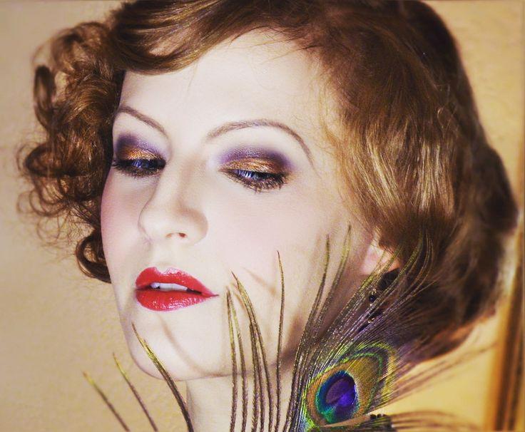 1000 id es sur le th me maquillage des ann es 1930 sur pinterest maquillage maquillage - Maquillage annee 30 ...