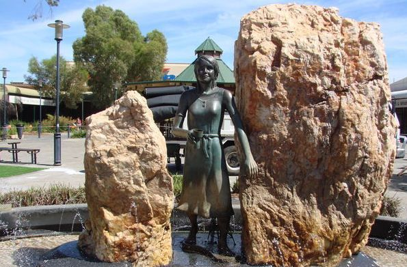 St Barbara Square and Statue in the heart of Kalgoorlie is home to a beautiful statue and fountain dedicated to Saint Barbara, who is recognised as the Patron Saint of Miners. Take a moment to sit and contemplate the significance of the statue in this historic gold rush town.Visit Kalgoorlie in December, and you can be a part of the St Barbara's Mining and Community Festival which takes place in St Barbara's Square. It was created to celebrate the strength of the mining industry.