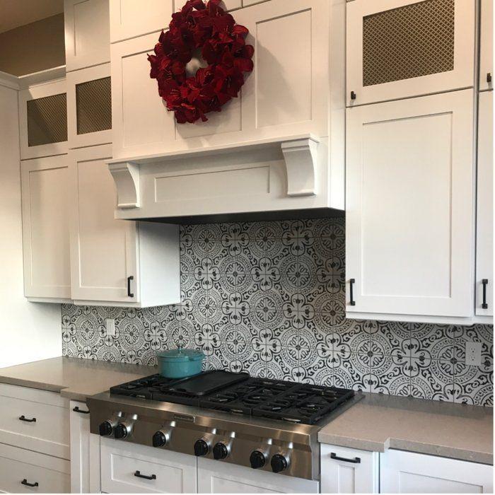 Kenzzi 8 X 8 Porcelain Spanish Wall Floor Tile Flooring Tile Floor Kitchen Flooring