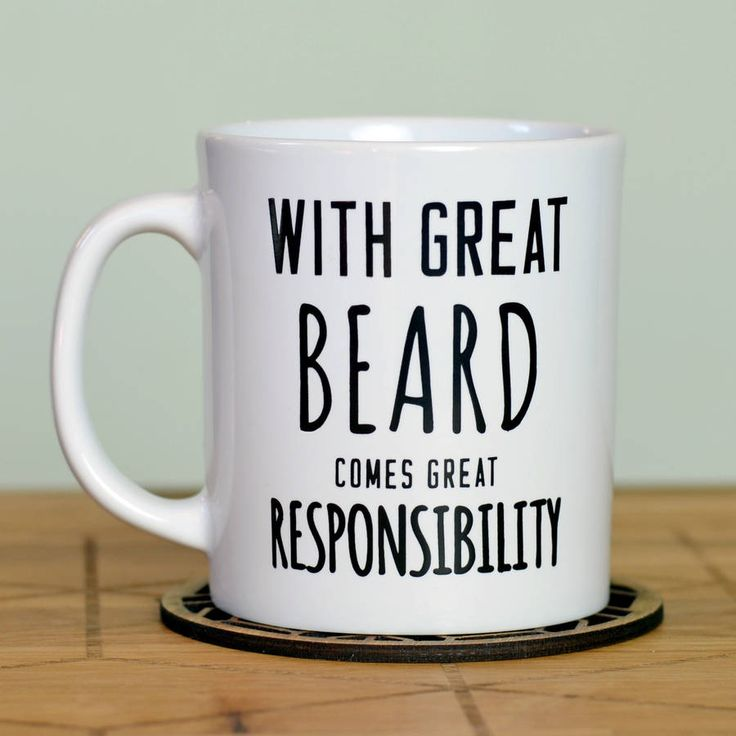 'great beard' man mug by oakdene designs | notonthehighstreet.com