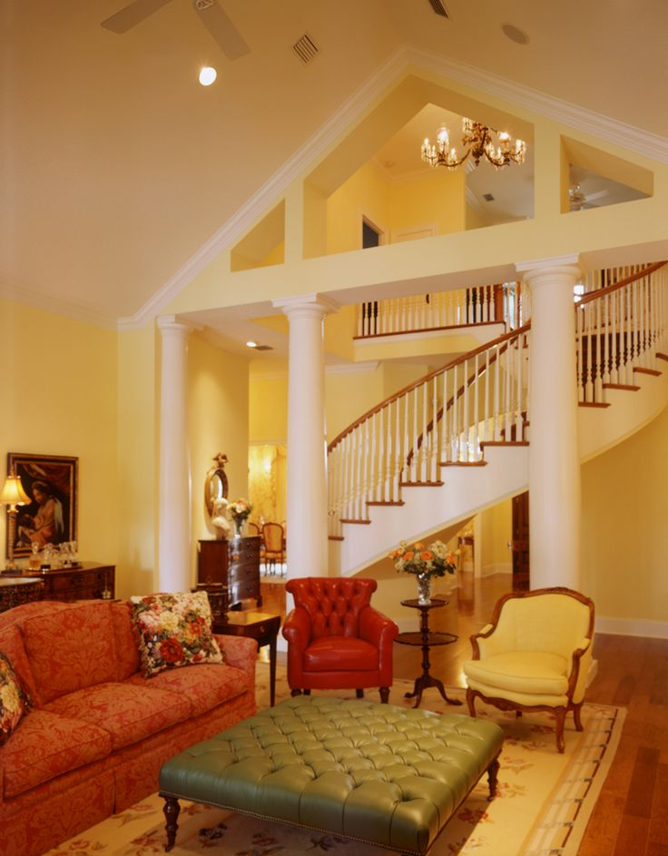 Foyer Into Great Room : Best images about home foyer stairs halls on pinterest