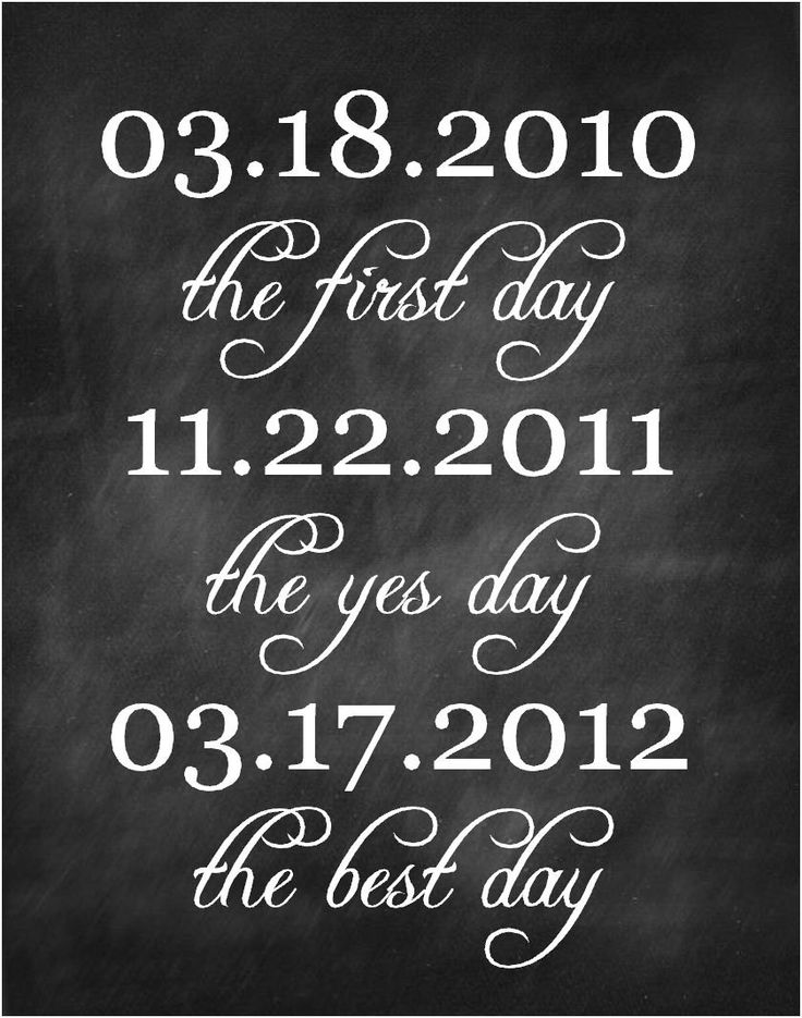 Wedding Dates sign First day yes day best by NansCakesandCreation, $8.00