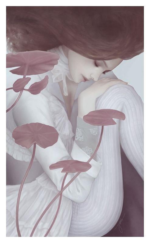 Jumei: Artists, Illustrations Art, Inspiration, Vans Of, Graphics Design, Odil Vans, Der Stap, Water Lilies, Jumei