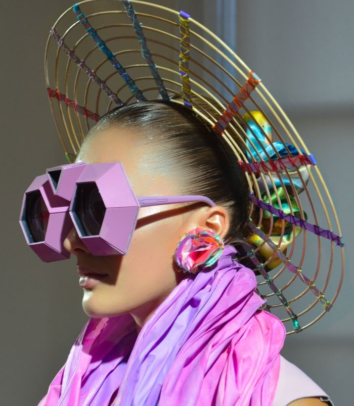 Fred Butler Spring 2012 | The House of Beccaria~ a bit much, but fun