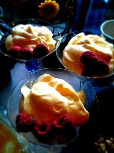 Limoncello Mousse with Vanilla Cookie Crust (similar to Olive Garden's maybe?) Going to give it a try!
