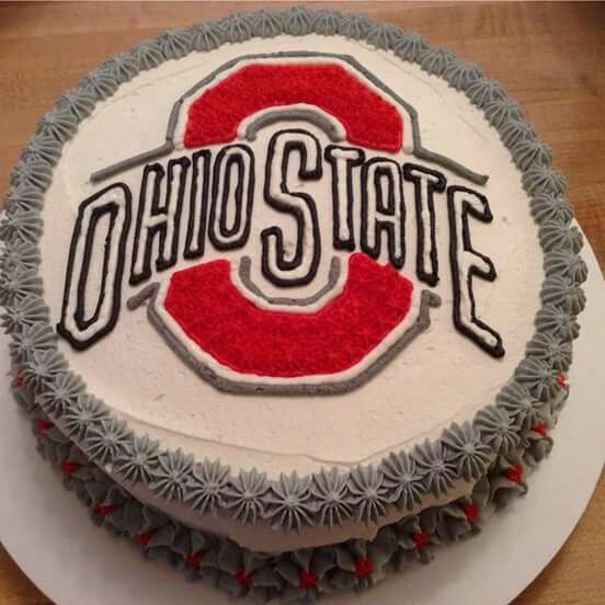 Ohio State cake from Baking People Happy in Marion, OH