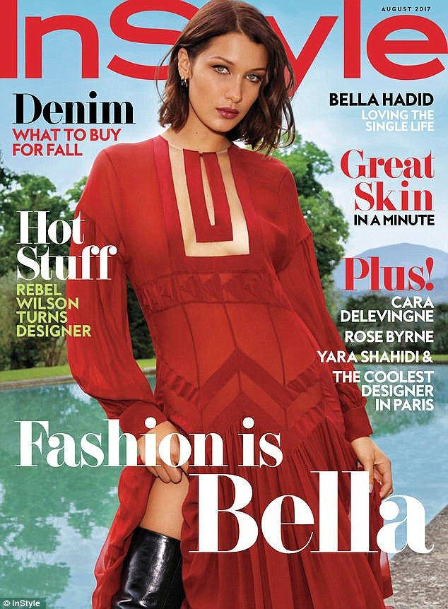 Look ravishing in red with Bella's Fendi dress #DailyMail
