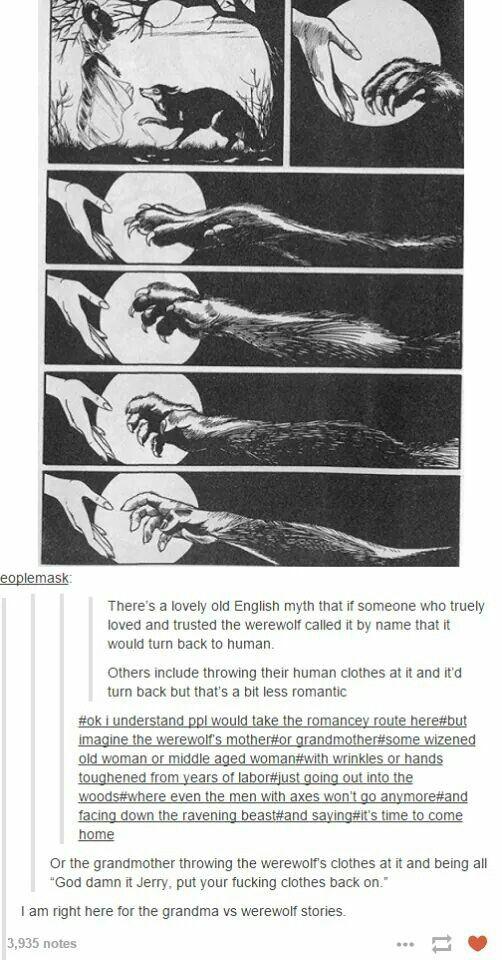 Old English myth