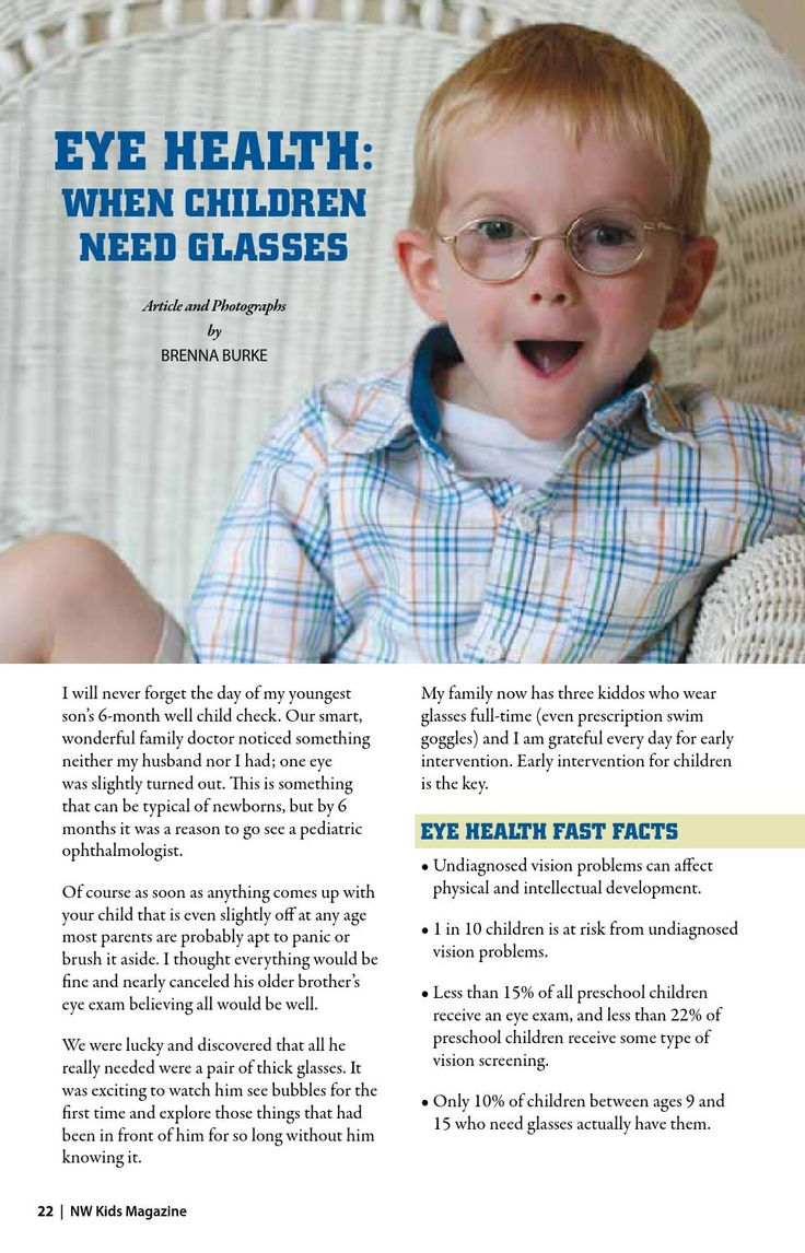 ISSUU - NW Kids Magazine July 2014 - A wonderful article about Kids Eye Health with links for important resource sites for parents.