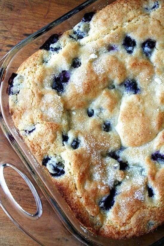 Buttermilk Blueberry Breakfast Cake by chefintraining #Breakfast #Cake #Blueberry #Buttermilk