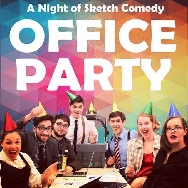 "@seeminglyevil's photo: ""Opening night of #officeparty went off with a bang! For all your #earlybirds out there, come along to the Melbourne Lithuanian Club tonight at the early start time of 9:15 for some #partytime. Tickets at www.melbournefringe.com.au #mfringe #melbournecomedy"""