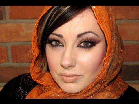 I fell in LOVE with arabic makeup, so pretty!