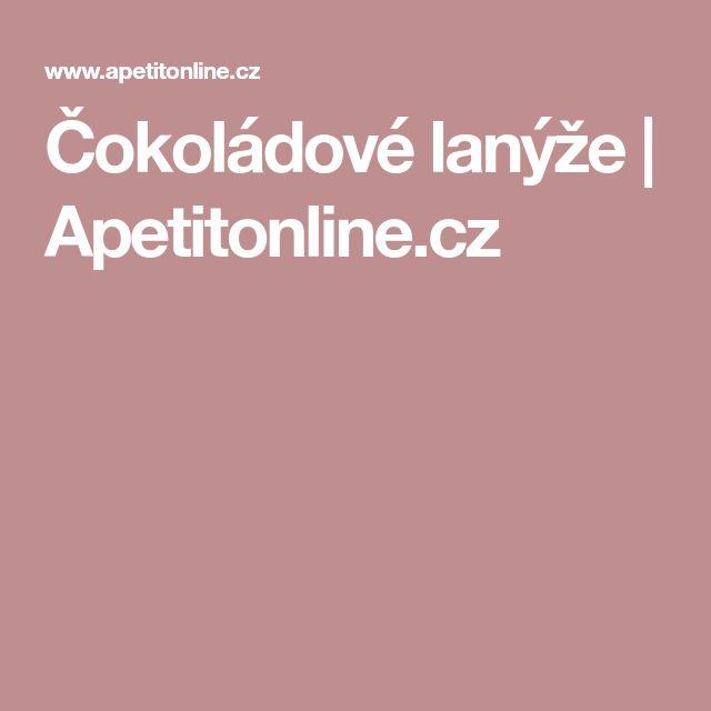 Čokoládové lanýže   Apetitonline.cz