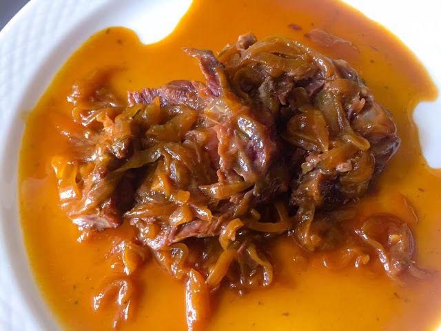 La Fabrique Gourmande: Boeuf Braisé Aux Oignons et Jus de Viande