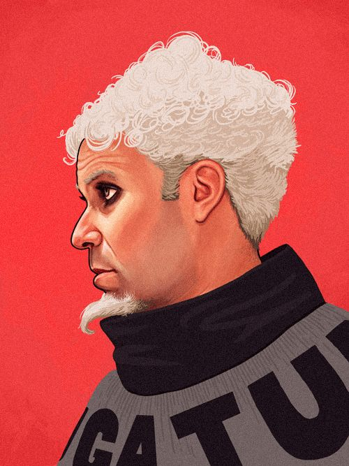 Jacobim Mugatu  - The Art Of Mike Mitchell