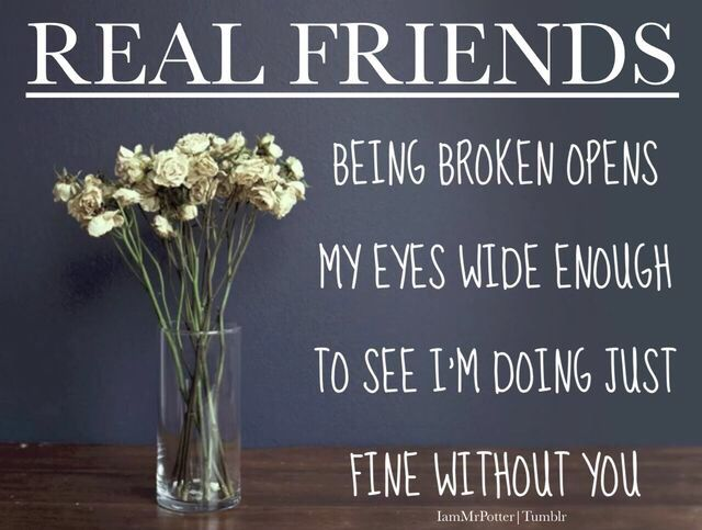 Real Friends I am finally learning to breath on my own without you.