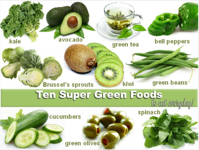 super green foods#
