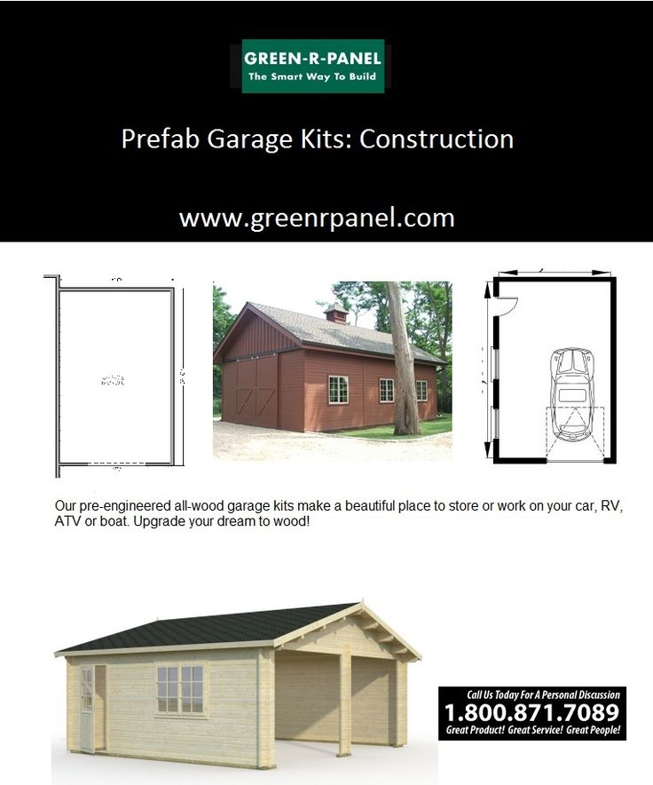 Garage packages green r panel