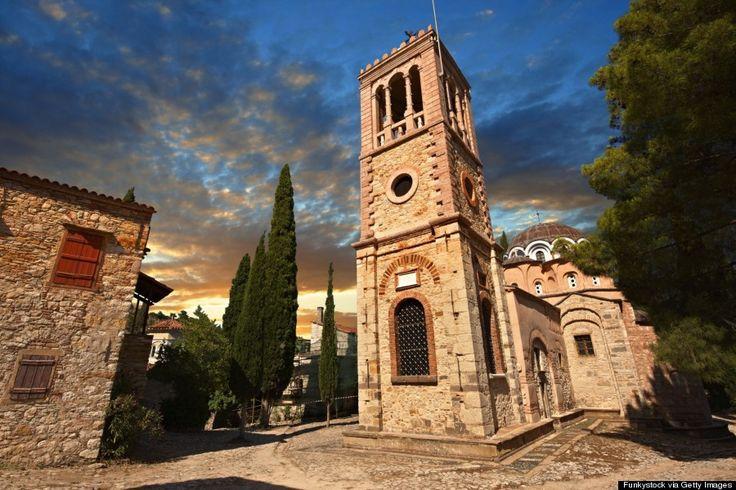 Nea mony monastery, part of #RealChios.