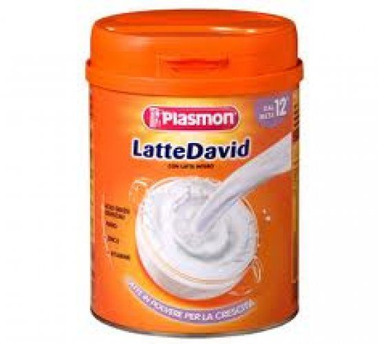 Lapte praf David, pt crestere, de la 12 luni Plasmon