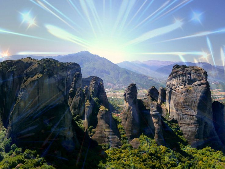 Meteora above the clouds. The sacred land blessed by God.  http://tripelonia.com/headline/meteora-above-the-clouds/117