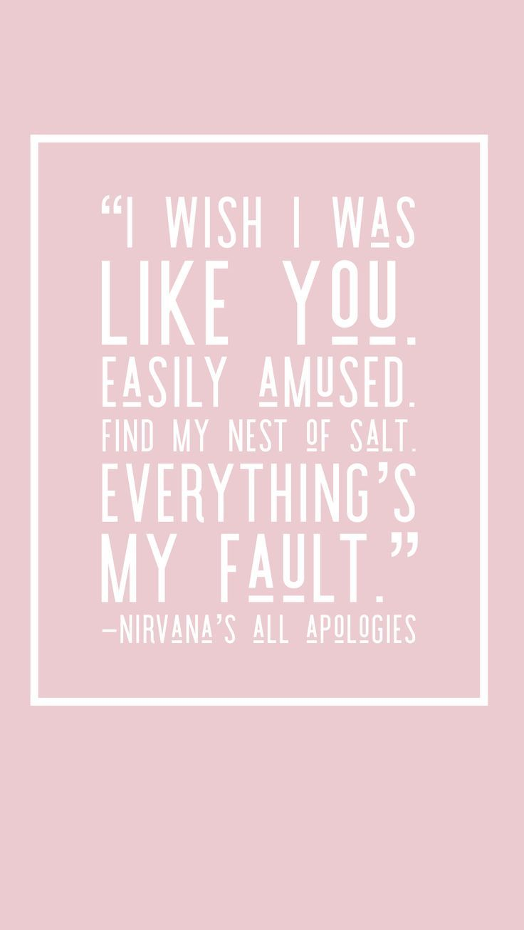 Nirvana Song Lyrics Best Song Lyrics Of All Time Music Quotes