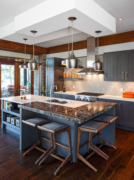 120 Best Kitchen Inspirations Images On Pinterest  Farmhouse Custom Kitchen Designer Ottawa Design Ideas