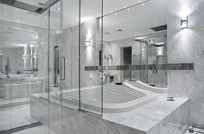 Banheiros de Luxo: detalhes em Vidro, Box Luxuosos e Espelhos Sob medida - sultanovidros.com.br - 19 3241-1365 - sultano.com.br