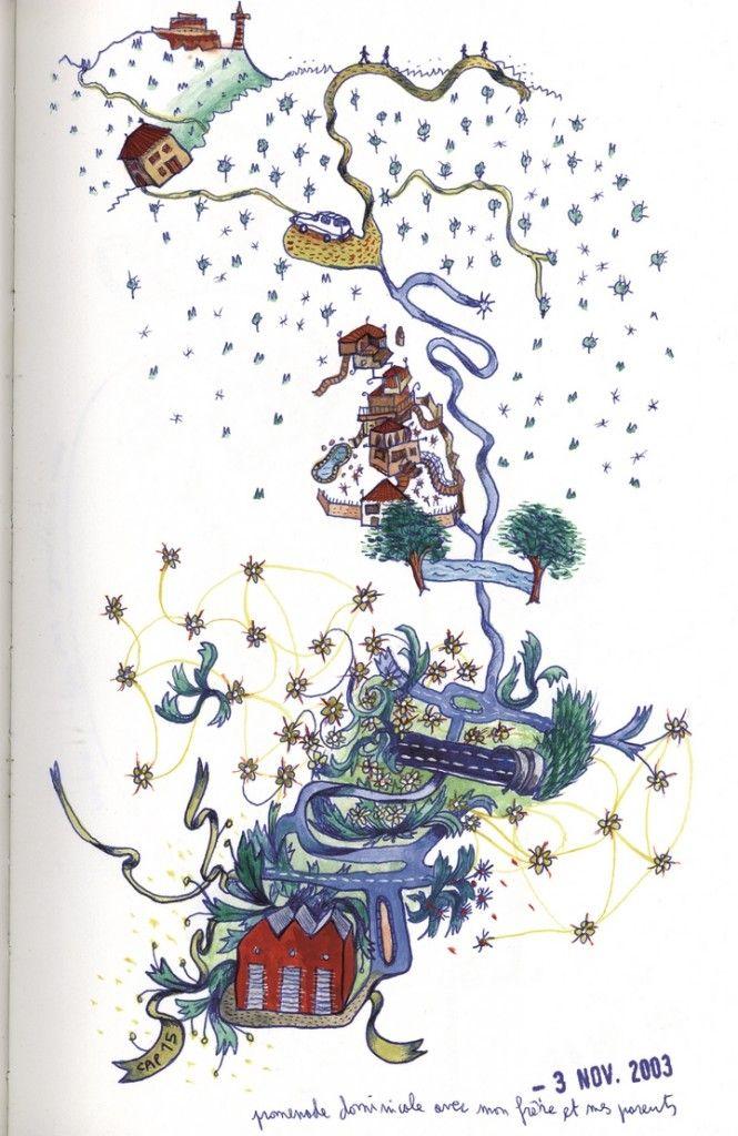 Mathias Poisson. Des cartes sensibles et des sensations cartographiques | Art, etc.