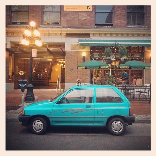 ford festiva - my first car