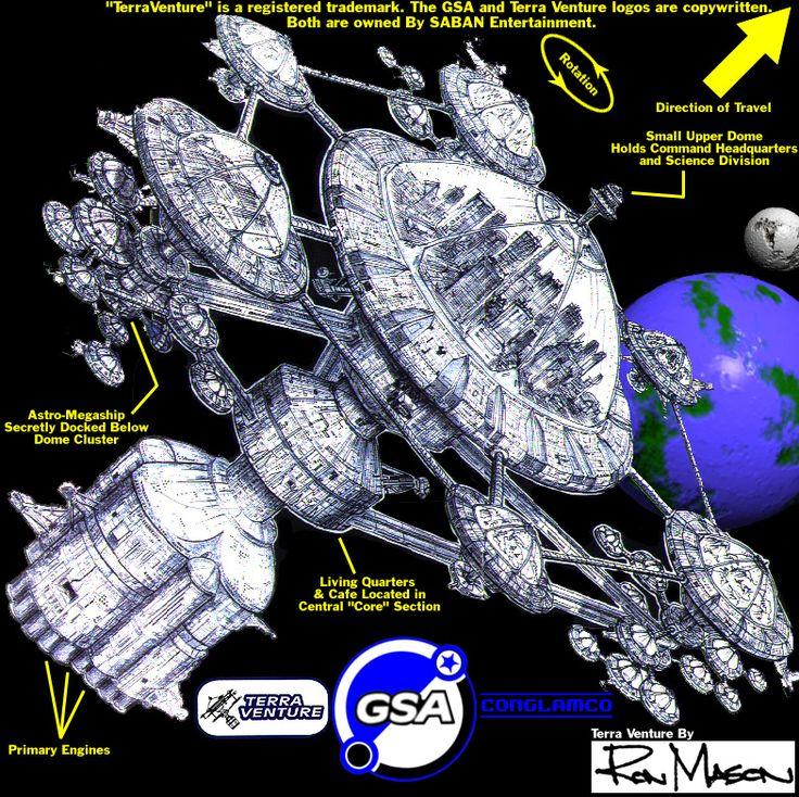 Terra Venture Power Rangers Lost Galaxy